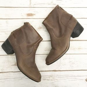 UGG • leather booties